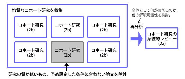 コホート研究の系統的レビュー